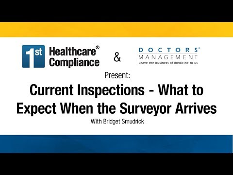 Current Inspections - What To Expect When The Surveyor Arrives