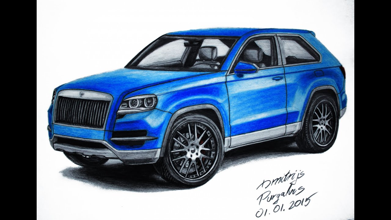 Drawing My Own Suv Concept Youtube