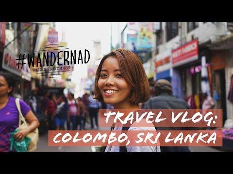 SRI LANKA TRAVEL VLOG: Things to do in  Colombo