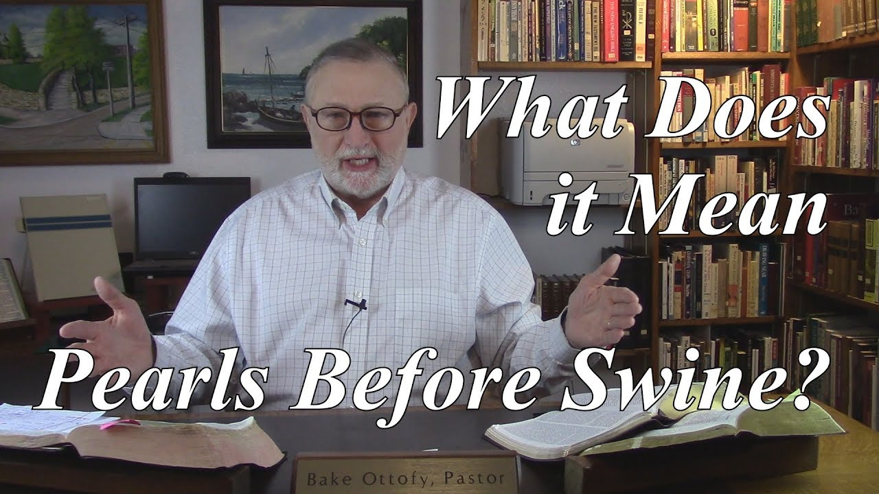 Download What Does it Mean: Pearls Before Swine?