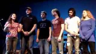 funky butterbeatles because a capella world cafe live