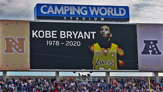 The NFL Pays Respects to Fallen Legend Kobe Bryant