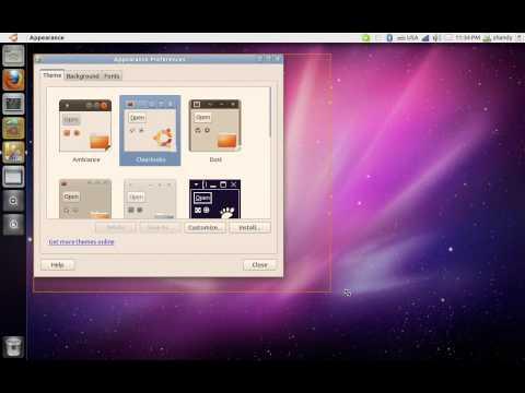 Ubuntu 11.04 TitbleBar Buttons Problem