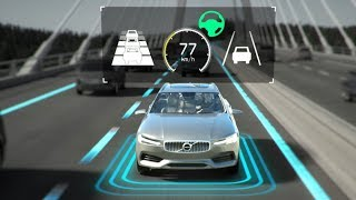 2019 Volvo V60 Safety Features Demonstration