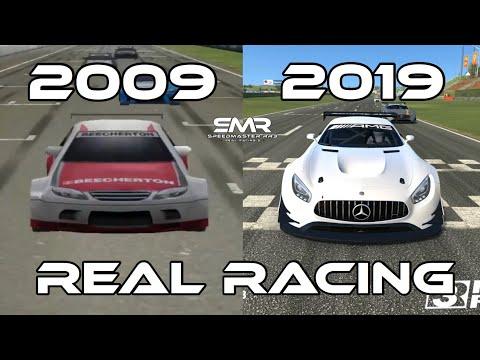 Evolution Of Real Racing