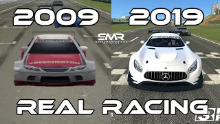 Evolution Of Real Racing