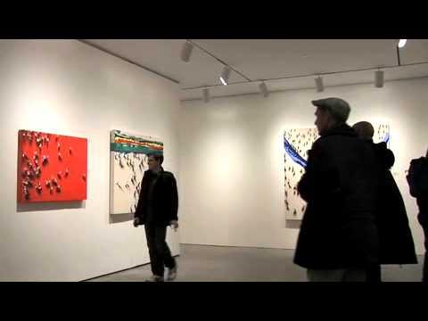 Juan Genoves at Marlborough Chelsea Gallery, New York 2009