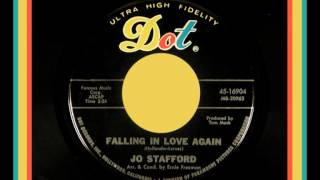 Video thumbnail of 'JO STAFFORD - Falling in Love Again (1966) First Time Posted!'