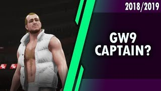GAMEWEEK 9 - WWE STYLE WHO TO CAPTAIN? #FPL 2018/2019!