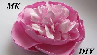 Как сделать пион из фома МК/How to make Foam Flower, DIY, Tutorial Foam peony