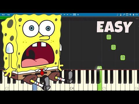 How To Play the SpongeBob SquarePants Theme Song - EASY Piano Tutorial