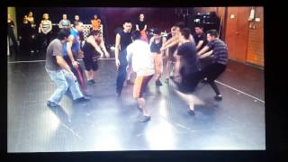 Macavity fight -rehearsal