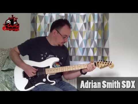 Orksmegga reviews the Jackson SDX Adrian Smith