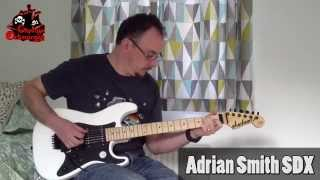 Orksmegga reviews the Jackson SDX Adrian Smith