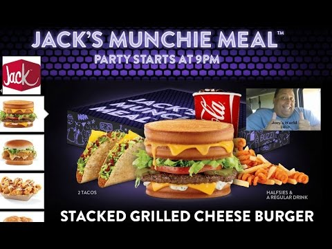 I get excited every time Jack in the Box comes out with a new Munchie Meal. I feel like Jack uses the Munchie Meal line to let their imaginations run wild and be completely unapologetic about the wacky foods they come up with.