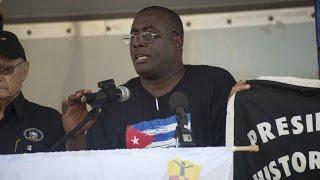Jose Luis Garcia Perez (Antunez) - Concentración pública en Miami por la democracia en Cuba
