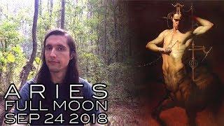 Aries Full Moon September 24th & Fall Equinox 2018 - Man, Heal Thyself (Achieving Harmony & Balance)