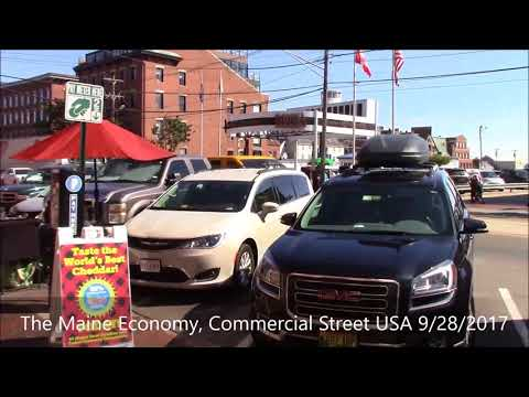 The Maine Economy, Commercial Street 9/28/2017