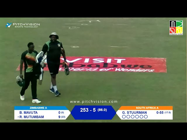 Zimbabwe A vs South Africa A | 1st Unofficial Test | Day 2