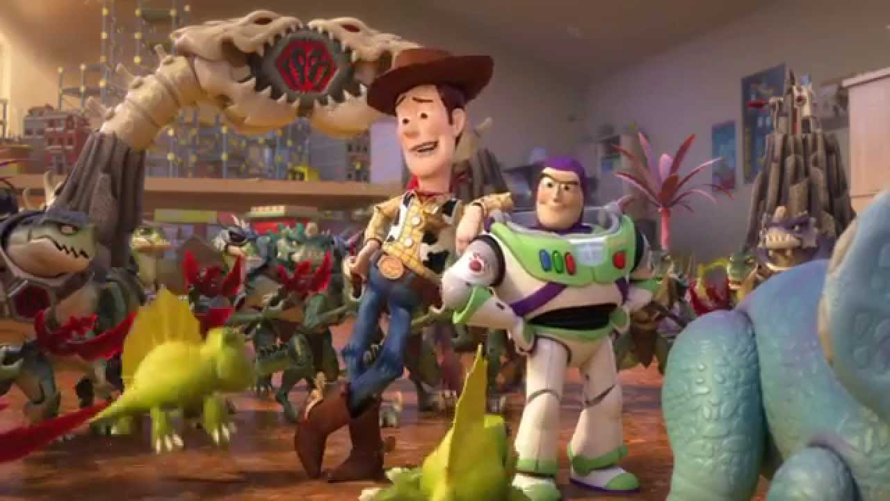 Toy Story That Time Forgot Blu Ray Trailer Youtube
