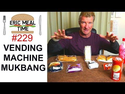 Vending Machine Mukbang Japan - Eric Meal Time #229