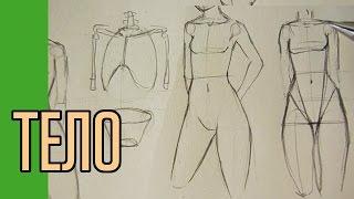 Как нарисовать тело. Полный вариант!(Без монтажа и ускорений рассказываю про то как я рисую тело персонажа. Мой элитный клуб: http://vk.com/club61619523., 2014-12-20T21:27:37.000Z)