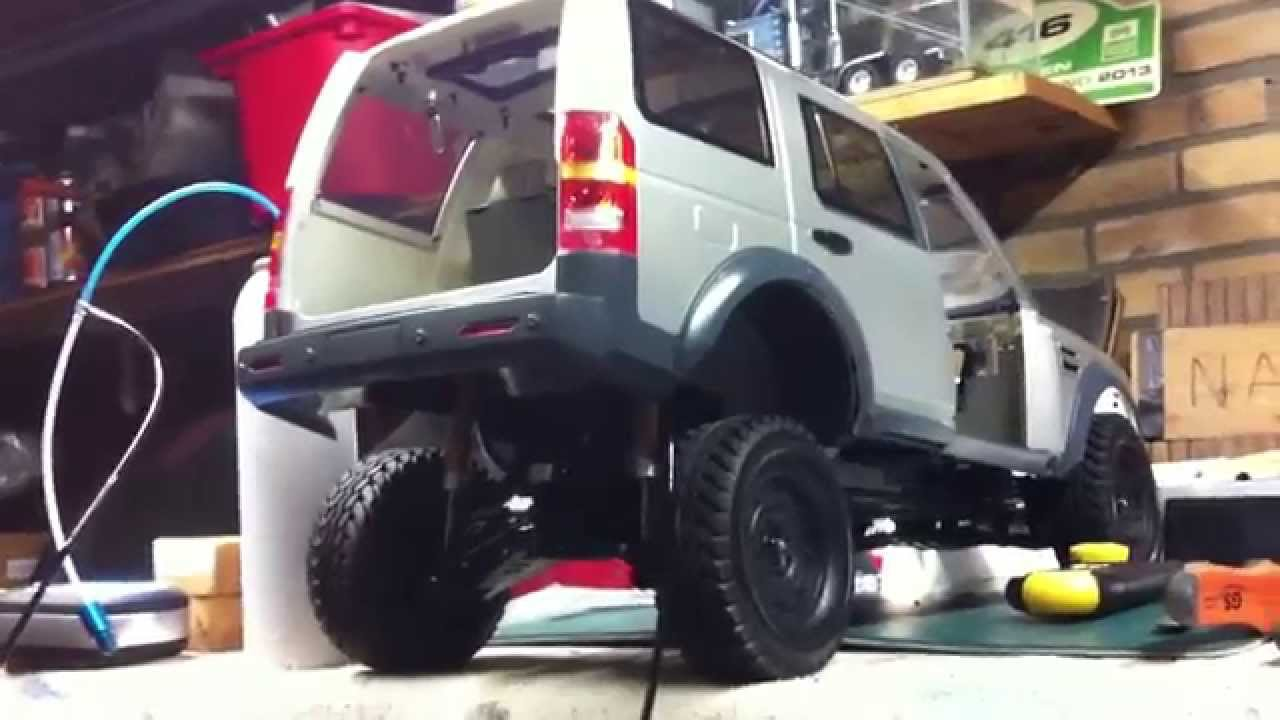 Land Rover Discovery 3 Air Suspension First Set Up Youtube