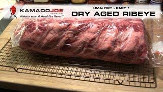 Kamado Joe Dry Aged Ribeye - Part 1
