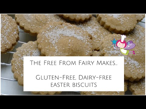 Gluten-free, Dairy-free Easter Biscuits; Cook Along Recipe