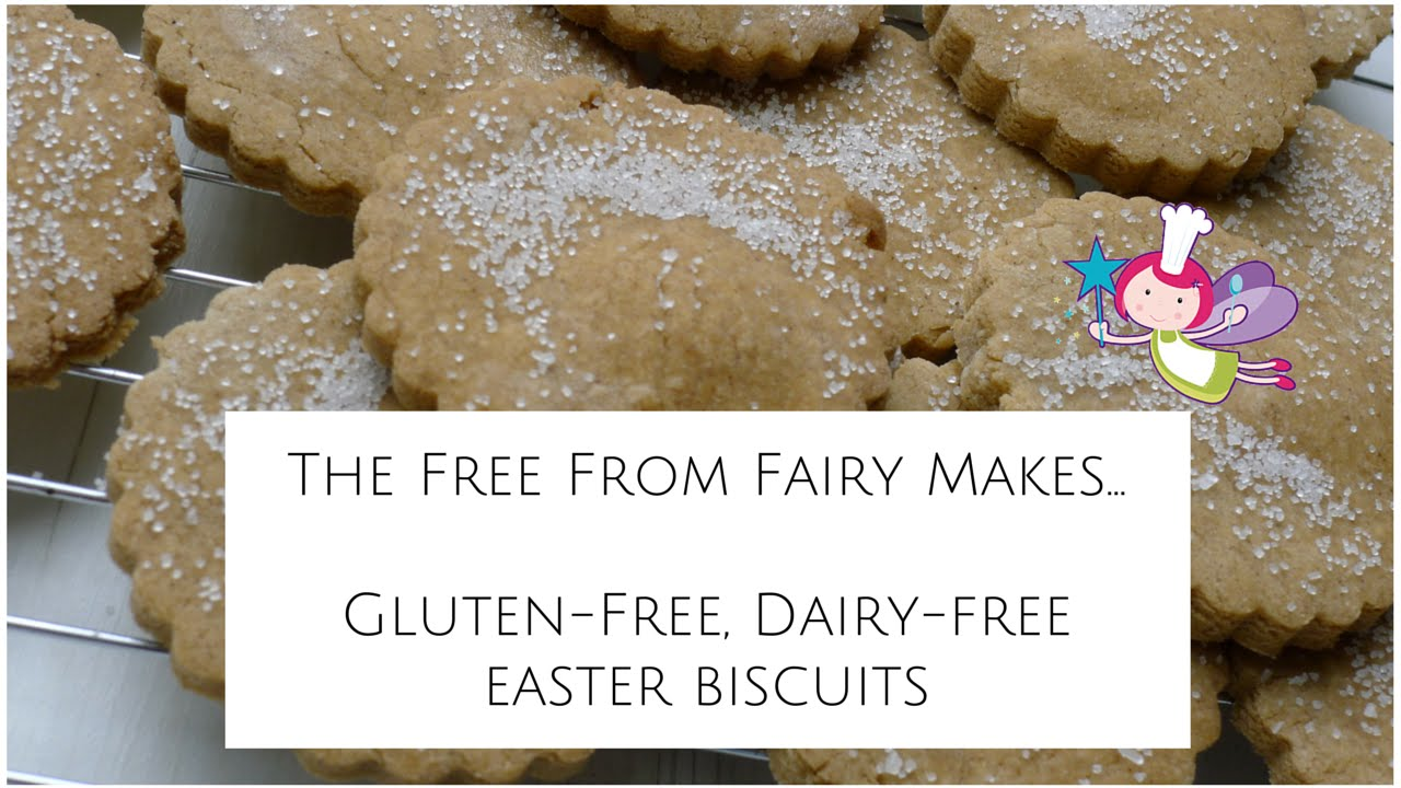 Gluten Free Dairy Free Easter Biscuits Cook Along Recipe Youtube