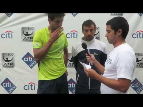 Marcelo Melo Ivan Dodig Interview - 2015 Citi Open
