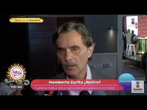 ¿Humberto Zurita preocupado por su esposa? | Sale el Sol