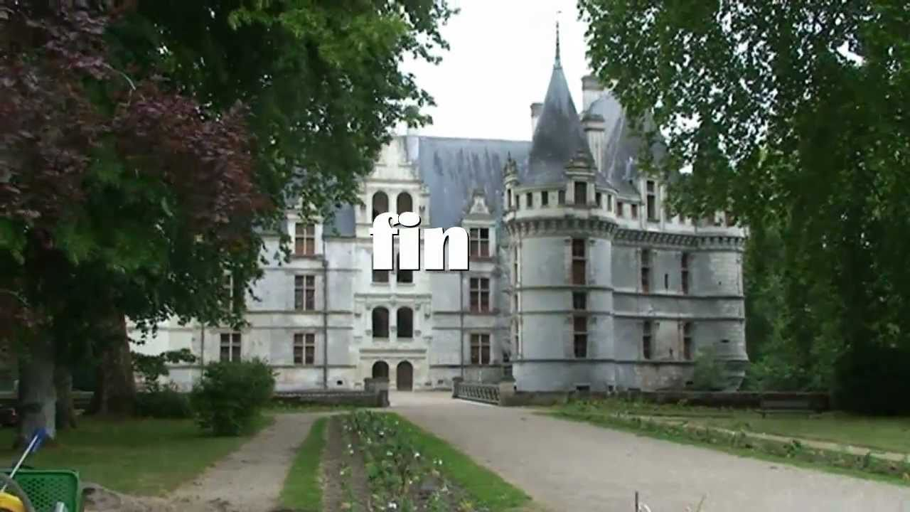 patrimoine de france le chateau d 39 azay le rideau youtube. Black Bedroom Furniture Sets. Home Design Ideas