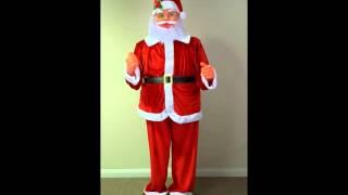 6ft dancing santa 1 8 metres tall