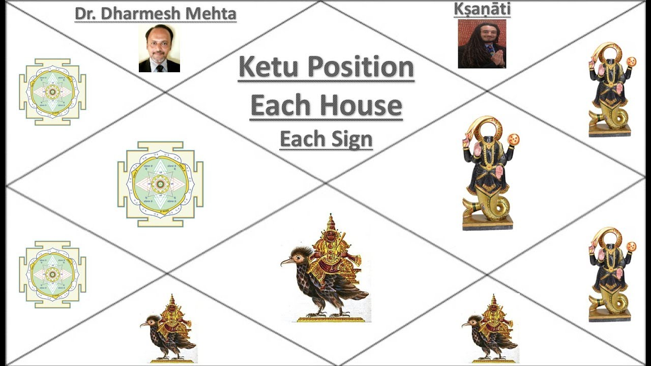 Karma of Ketu in All 12 Houses and Signs W/ Dr  Dharmesh (Part 1)