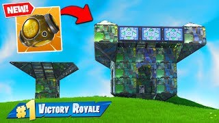 The NEW Port-A-Fortress BROKE FORTNITE