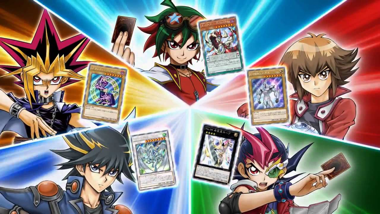 yu gi oh arc v the rarity collection japanese commercial youtube