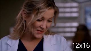 Grey's Anatomy - All Calzona Scenes - Season 12