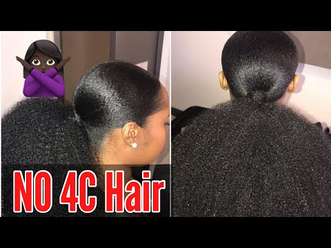 Hairstylist Reminds Customers she DOESN'T DO 4C Hair