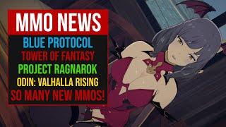 MMORPG NEWS: SO MANY NEW MMOS! Blue Protocol, ODIN: Valhalla Rising, Project Ragnarok, V4