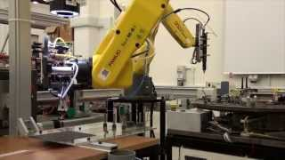 2014 Automation Laboratory Demo by Manufacturing Engineering Students, Institute for Manufacturing