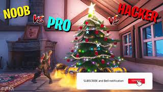 Noob vs pro vs hacker Fortnite temporada 7 EP: 2 FPC A.