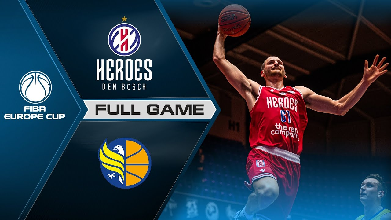 Heroes Den Bosch v Opava | Full Game - FIBA Europe Cup 2021-22