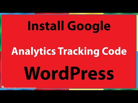 How to Install Google Analytics Tracking Code in WordPress