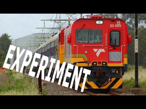 South African Class 22E - PRASA Test Train