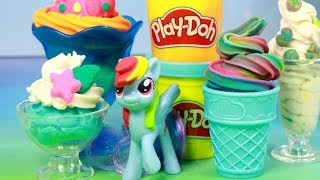 Play Doh & My Little Pony • Deser lodowy • bajka po polsku