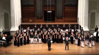 cloudburst eric whitacre by raffles chorale and voices