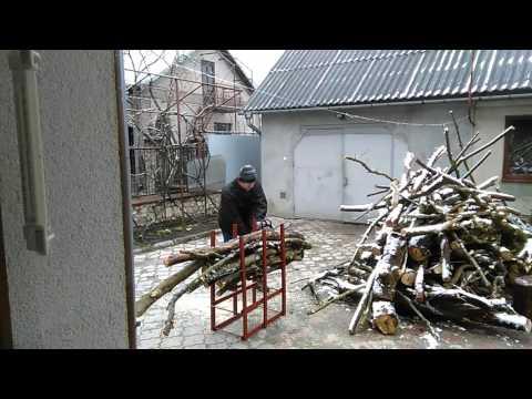 Козел для дров  - проба раз