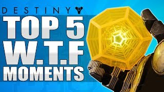 "Destiny: First Ever ""EXOTIC ENGRAM"" Drop - Top 5 WTF Moments / Epsiode 65"