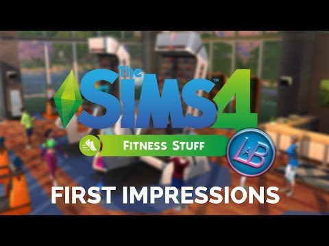 Sims 4: Fitness Stuff Pack First Impressions |